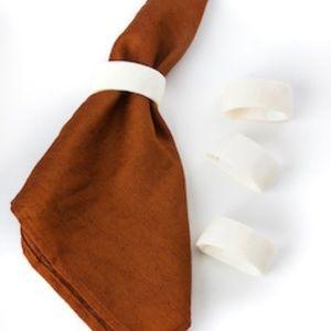 Bone Napkin Rings (Set of 4)